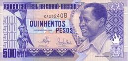 GUINEE BISSAU   500  Pesos  Daté Du 1er Mars 1990   Pick 12        ***** BILLET  NEUF ***** - Guinea-Bissau