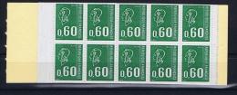 France 1974 - Carnet Marianne De Bequet - Yv 1815 C1 Bande Phosphore - Carnets