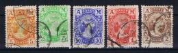 Greece: Mi Nr 139 - 143  Used 1902 - 1901-02 Vliegende Mercurius & AM