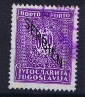 Serbia: Postage Due Mi 1 Used - Serbia