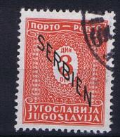 Serbia: Postage Due Mi 4 Used - Servië