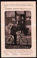 RANSART - Carte Privée Pub Pour Sandron Arthur - Pigeons - Colombophilie  // - Charleroi