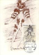 FRANCE CARTE MAXIMUM NUM.YVERT 2068 PEINTURE CHAPELAIN MIDY - 1970-79