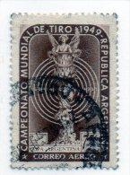 1949 Argentina - Campionati Mondiali Di Tiro - Tiro (armi)