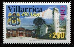 Chili ** N° 1632 - 450e Ann. De La Ville De Villarrica Prix 0,90 € + Port - Chili