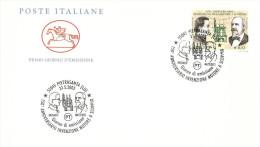 ANNIVERSARIO INVENZIONE MOTORE A SCOPPIO - A.S. PIETRASANTA - ANNO 2003 - ITALIA REPUBBLICA  - FDC CAVALLINO - F.D.C.