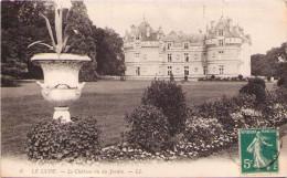 LE LUDE - Le Château Vu Du Jardin - France