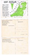 B4916   GROOT NEDERLAND ( 5 Verschillende Teksten) - Belgium
