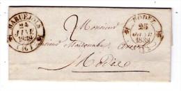 LAC  De MARUEJOLS Pour RODEZ - 1838 - 3 Scan