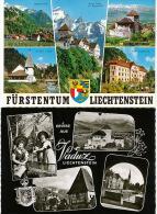 2 Cards Furstentum And Vaduz - Liechtenstein