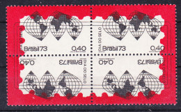 1973-Brasilien-Mi 1382-1385 (**) - Nuevos