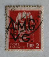 ITALIA 1945 - AMGVG FRANCOBOLLI D'ITALIA SOVRASTAMPATO - Trieste