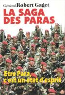 LA SAGA DES PARAS HISTORIQUE PARACHUTISTES BERET ROUGE TAP PARA AEROPORTE BCRA SAS RCP  BPC REP  BPVN
