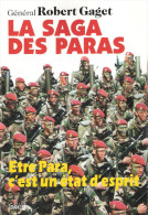 LA SAGA DES PARAS HISTORIQUE PARACHUTISTES BERET ROUGE TAP PARA AEROPORTE BCRA SAS RCP  BPC REP  BPVN - Libri