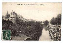 VANNES (56) - La Tour Du Connétable Et Lr Lavoir De La Garenne - Vannes