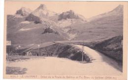 Carte Postale Ancienne - Alpinisme - Début De La Route Du Galibier Et Pic Blanc (2956m.) - Alpinisme