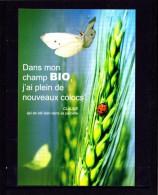CP Papillon, Coccinelle, épis De Blé, Agriculture Biologique, Environnement - Insects