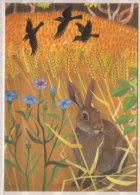 "Marlene Reidel , Poster "" Ackerland "" , Ausschnitt - Künstlerkarten"
