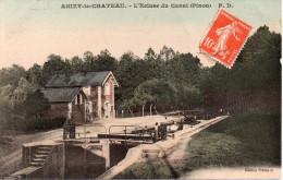 ANIZY-le-CHATEAU L´Ecluse Du Canal 02 AISNE - France