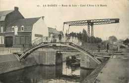 Départements Divers -nord  - Réf .L413  -la Bassée - Route De Lens - Canal D'aires à La Bassée - Canaux - - France