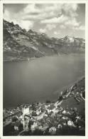 PostkaartZwitserland  B723  Mühlehorn Am Walensee Mit Kurfirsten - Ohne Zuordnung