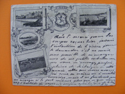 Mini CPA (9x11,5 Cm) Helensburgh (Scotland) - Ecosse - Précurseur 1899 - Mulivue / Multiviews - RARE - Bute