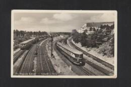 AK Der Fliegende Kölner Ankunft In Berlin 1936 - Eisenbahnen