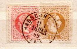 Austria Used On Piece Of Paper - 1850-1918 Imperium