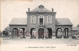 AISNE (02) - Buironfosse - Halle Et Mairie - Otros Municipios