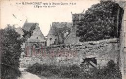 AISNE (02) - Blérancourt - L'Eglise Vue De Coté Après La Grande Guerre 1914-18 - France