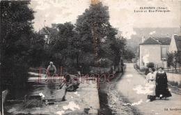 AISNE (02) - Blesmes - Lavoir Et Rue Principale - Carte En L'état - Otros Municipios