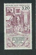France:n°2393 ** Tricentenaire Des Relations Diplomatiques Avec La Thaïlande - France