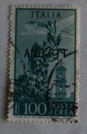 ITALIA 1945 TRIESTE ZONA A - POSTA AEREA USATO - Gebraucht