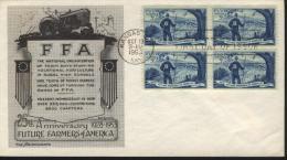 USA FDC Sc 1024 Future Farmers - 1951-1960