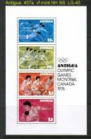 ANTIGUA   Scott  # 437a**  VF MINT NH  SOUVENIR SHEET - 1960-1981 Ministerial Government