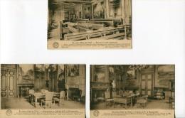 BEL27/  Lot 3x Ed. La Belgique Historique Desaix, Bruxelles Cabinet Du Bourgmestre - België