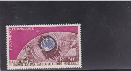POLYNESIE - POSTE AERIENNE YVERT N° 6 ** - COTE = 14 EUR. - - Airmail