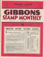 Sg16 GIBBONS STAMP MONTHLY, 1946 September,  Good Condition - Inglesi (dal 1941)