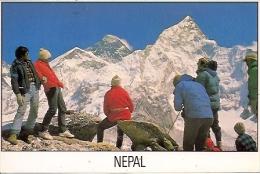 NEPAL  Enjoying Everest From Kalapathar - Nepal