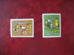République De Chine:timbres N°731 Et 732 (YT) Neufs Avec Charnière - 1945-... République De Chine
