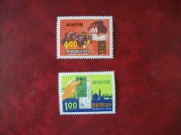 République De Chine:timbres N°750 Et 751 (YT) Neufs Avec Charnière - 1945-... Republic Of China