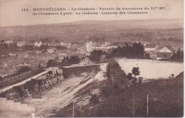 CPA Montbéliard - La Citadelle - Terrain De Manoeuvre Du 21me Bon De Chasseur à Pied - Château - Caserne - 1926 (1326) - Montbéliard