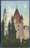 WR.NEUSTADT, Reckturm Und Pfarrturm, Als Feldpost Gelaufen Um 1914, Verlag: A.J.Kuderna, Seltene Karte - Wiener Neustadt
