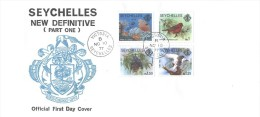 Seychelles - FDC 1977 - Fauna - Seychelles (1976-...)