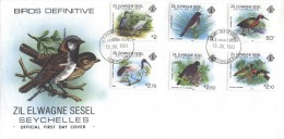 Seychelles - FDC 1983 - Set Of 3 FDC's - Birds, Definitive Issue - Seychelles (1976-...)
