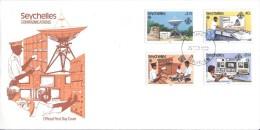 Seychelles - FDC 1983 - Communications - Seychelles (1976-...)