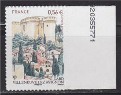 Issu De La Boutique Pro, Autoadhésif, Villeneuve Lez Avignon Gard Le Village Et Le Château, Neuf N° 416 - Adhesive Stamps