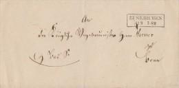 Brief Euskirchen 11.9. Gelaufen Nach Bonn - ...-1849 Vorphilatelie