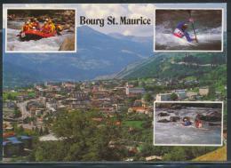CPM - BOURG-SAINT-MAURICE - Capitale Des Jeux D'eaux Vives - Bourg Saint Maurice
