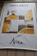 AFFICHE NINA RICCI POUR NINA - Fragrances